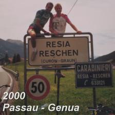 Tour 2000: Passau - Genua